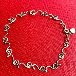 🖤Sterling Unique design anklet/bracelet